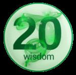 wisdom 20