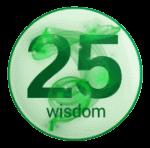 wisdom 25