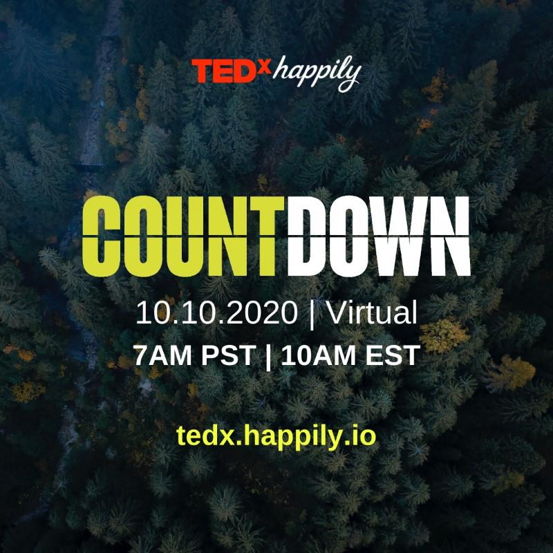 TEDxHappily Countdown 2020