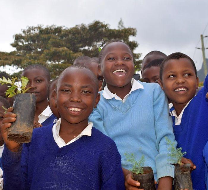 tanzania students planting