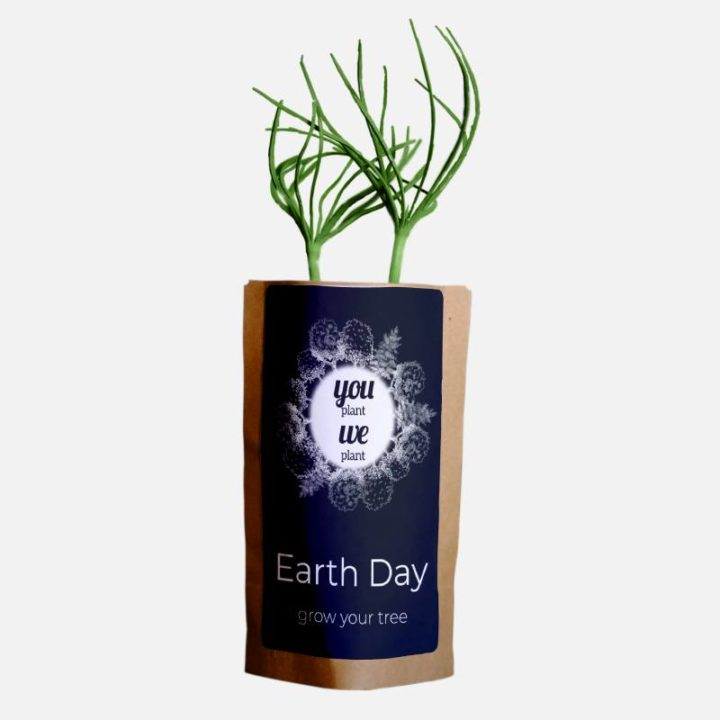 Earth Day Tree Pouch 2