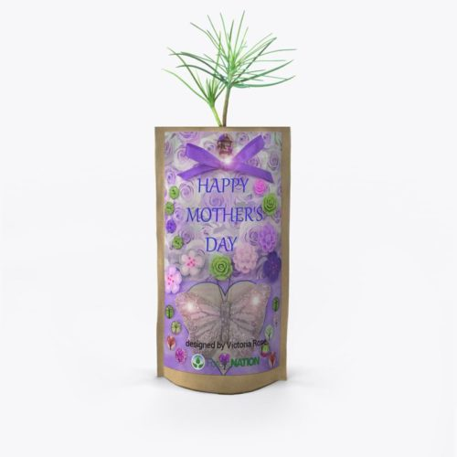Mother's Day Tree Pouch by Victoria Rose V3