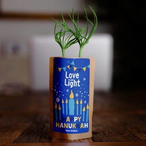 Love and Light Happy Hanukkah Happy Holidays