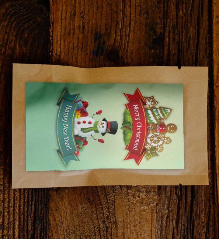 Merry Christmas Ribbon Growing Kit 1