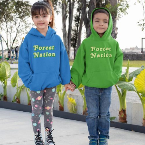 Forest Nation Kid's Hoodie