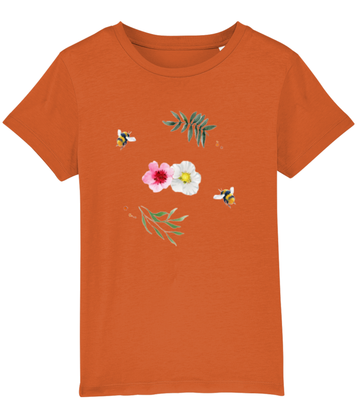 Willow Branches Kid's Organic T-Shirt 2