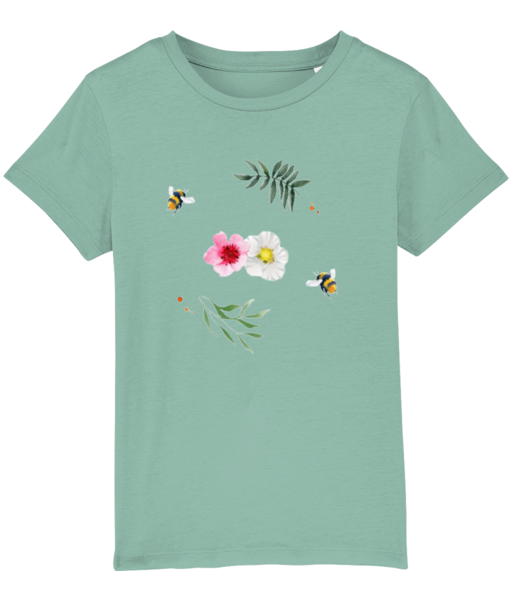 Willow Branches Kid's Organic T-Shirt 4