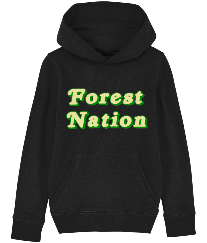 Classic Forest Nation Kid's Organic Hoodie 6
