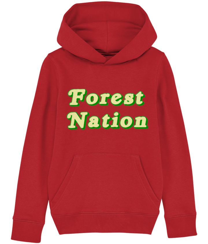 Classic Forest Nation Kid's Organic Hoodie 1