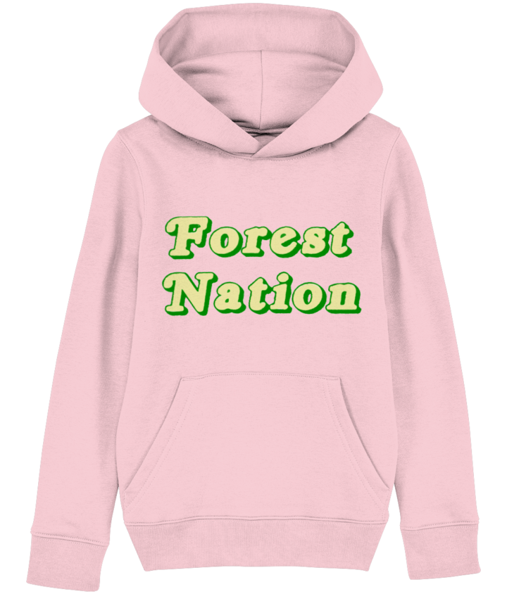 Classic Forest Nation Kid's Organic Hoodie 2