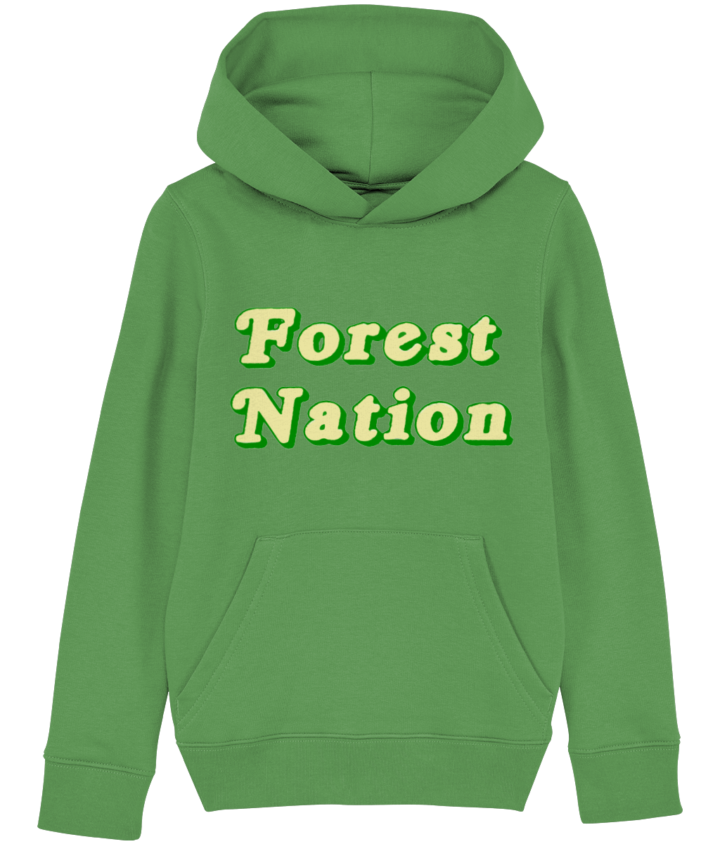 Classic Forest Nation Kid's Organic Hoodie 3