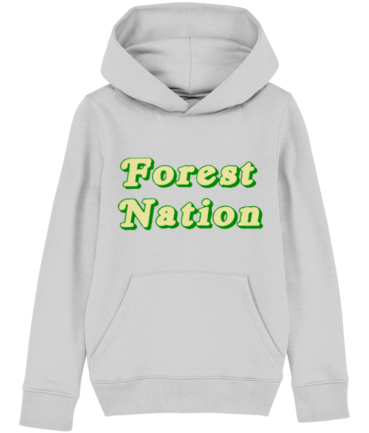 Classic Forest Nation Kid's Organic Hoodie 4