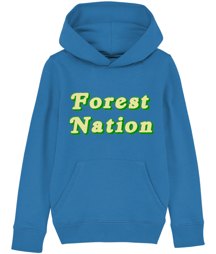 Classic Forest Nation Kid's Organic Hoodie 5