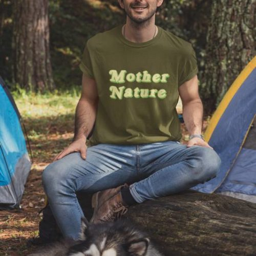 Mother nature Men's tshirt