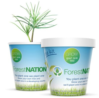 You plant one we plant one tree kit | ForestNation