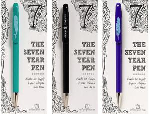 7 year pen