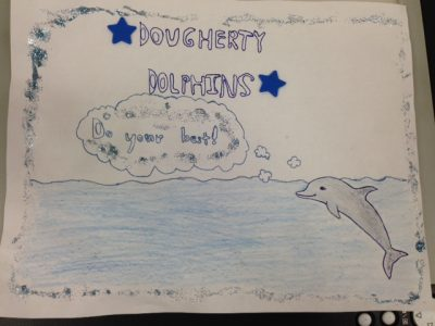 Dougherty Elementary School-winning poster Fundraiser