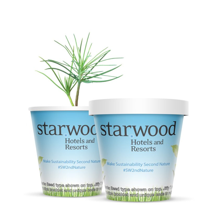 Starwood Hotels & Resorts Tree Kits ForestNation