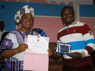 Princess Recognition Award for Farmer Tantoh