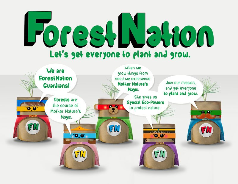Forest-Nation-Guardians-Tree Kit Fundraiser