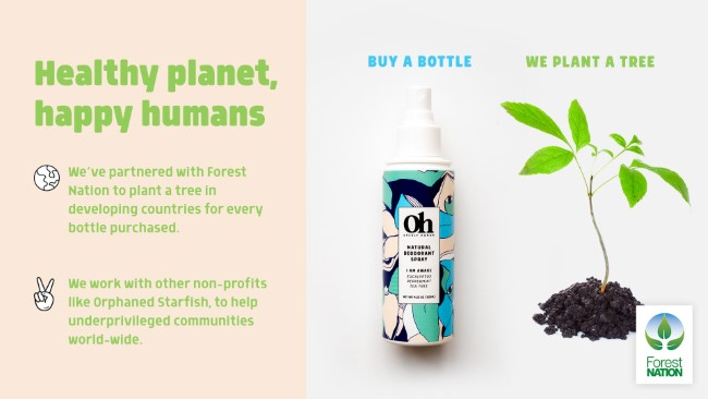 openly human buy a bottle plant a tree