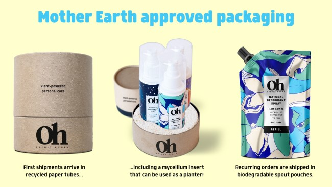 openly human eco friendly deos