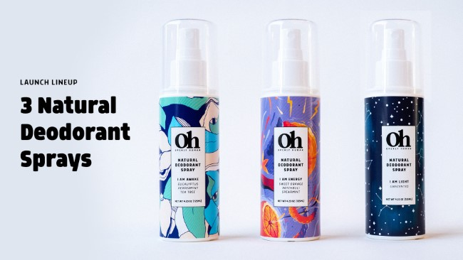 openly human natural sprays