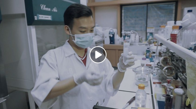Young Scientist makes Bioplastic from Mango peels and Seaweed 1