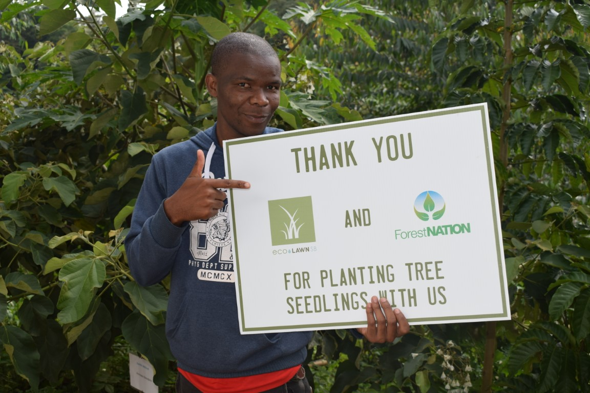 EcoLawn Santa Barbara Growing a Forest with us in Tanzania 2