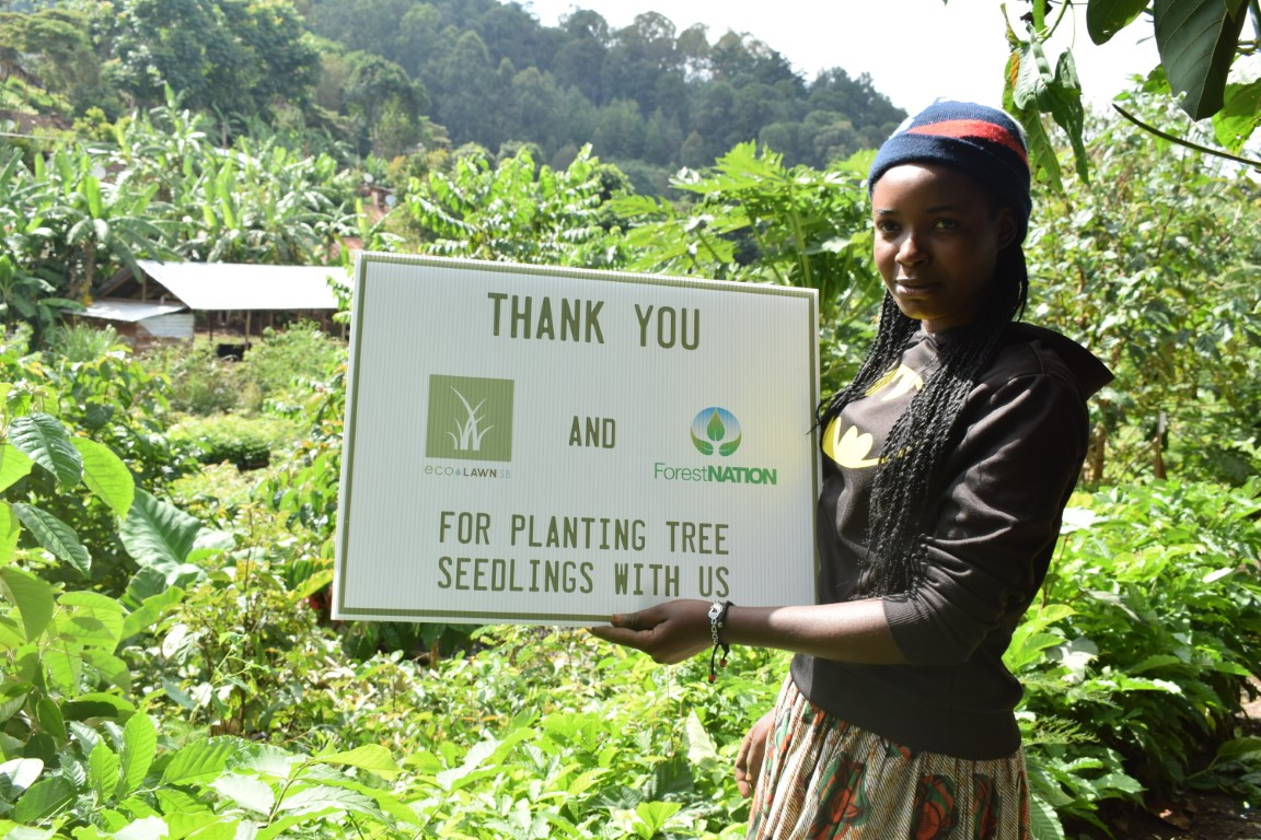 EcoLawn Santa Barbara Growing a Forest with us in Tanzania 3