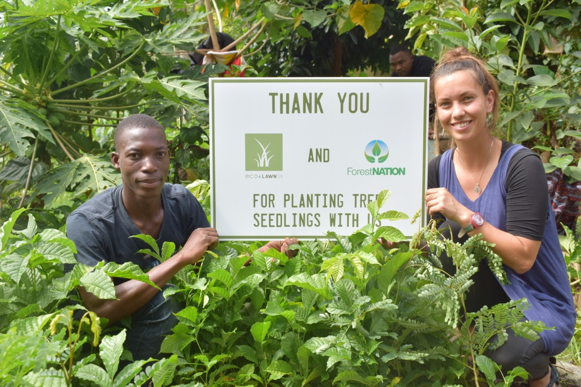 EcoLawn Santa Barbara Growing a Forest with us in Tanzania 4