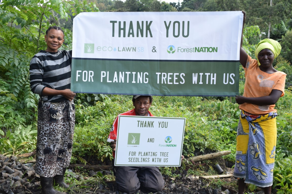EcoLawn Santa Barbara Growing a Forest with us in Tanzania 5