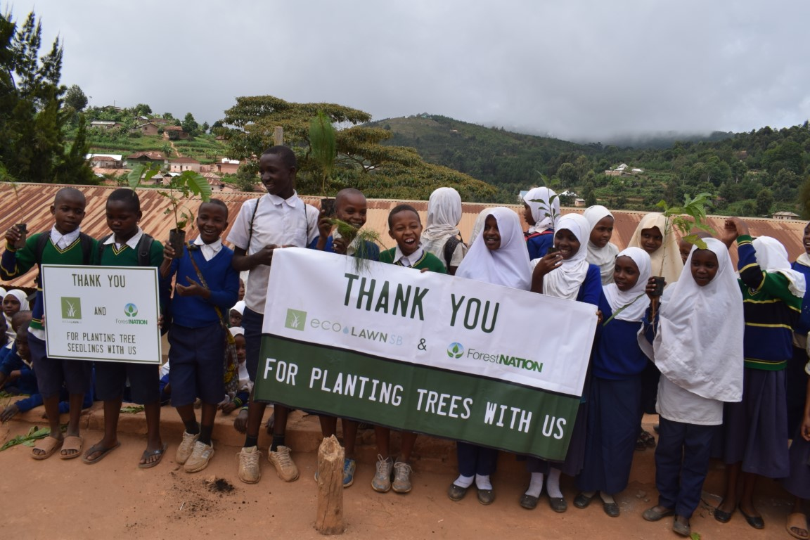 EcoLawn Santa Barbara Growing a Forest with us in Tanzania 6