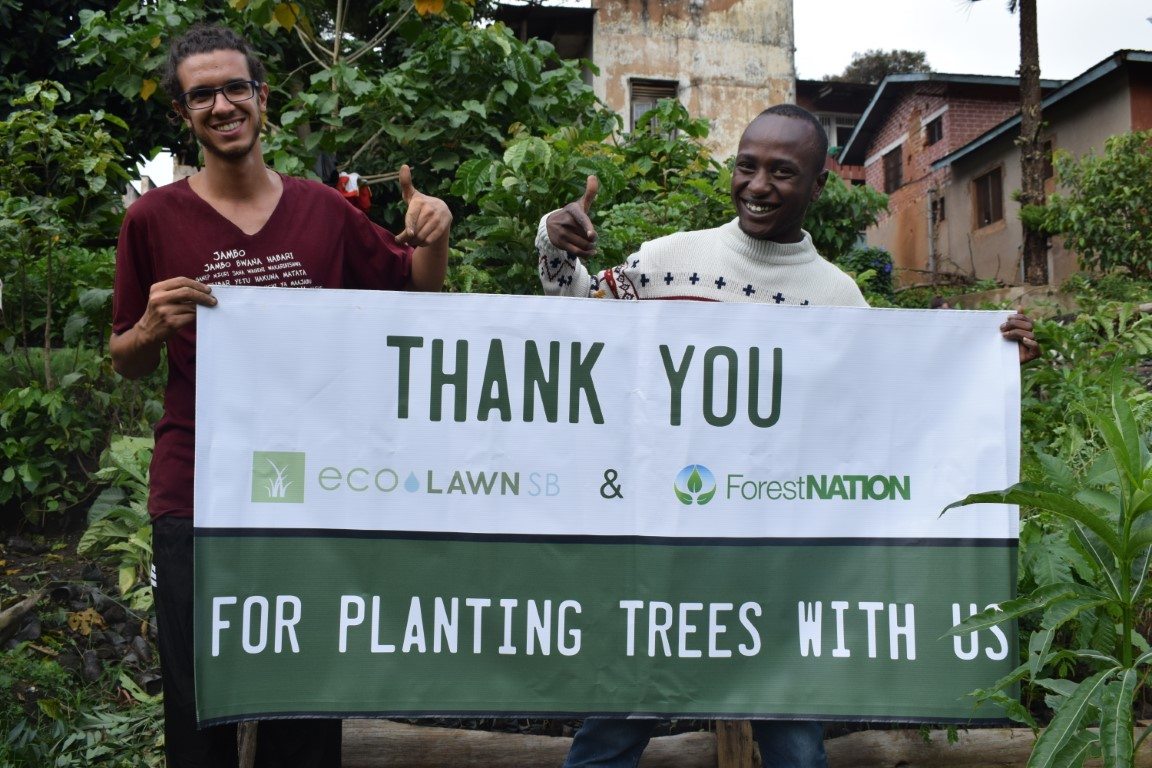 EcoLawn Santa Barbara Growing a Forest with us in Tanzania 7