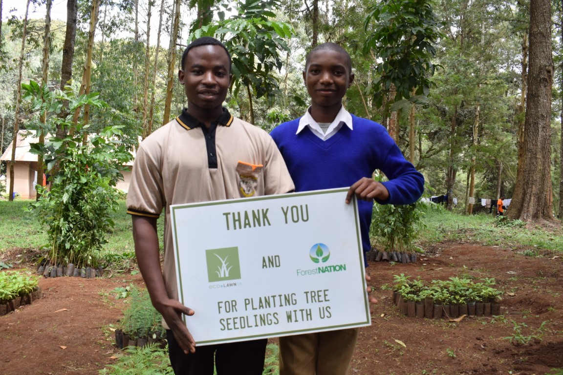 EcoLawn Santa Barbara Growing a Forest with us in Tanzania 8