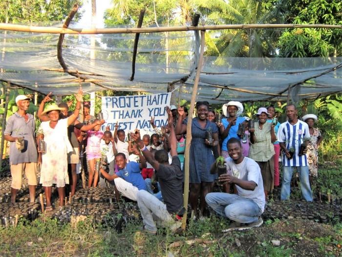 project haiti forestnation